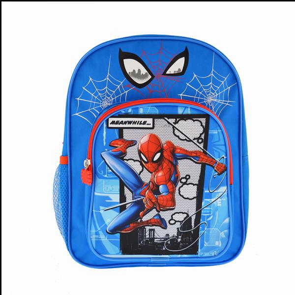 """Ghiozdan 12"""" 2 compartimente Spider Man"""