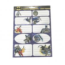 Etichete scolare 20 buc Batman