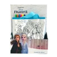 Geanta de colorat Frozen