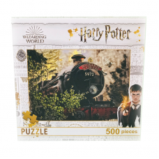 Puzzle 500 piese Harry Potter- Trenul Hogwarts Express - 48x34cm
