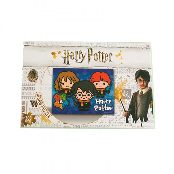 Puzzle 300 piese Harry Potter -prieteni cu baghete 45x60 cm