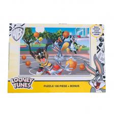 Puzzle 100 piese + Bonus Looney Tunes