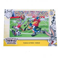 Puzzle 24 piese + Bonus Looney Tunes