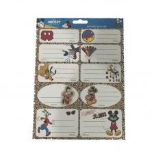 Etichete scolare 20 buc Mickey