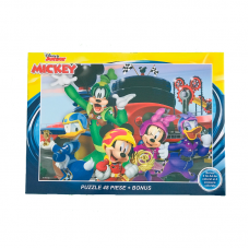 Puzzle 48 piese + Bonus Mickey