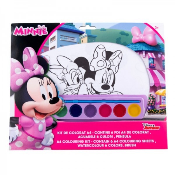Kit de colorat A4 Minnie - MNN31002