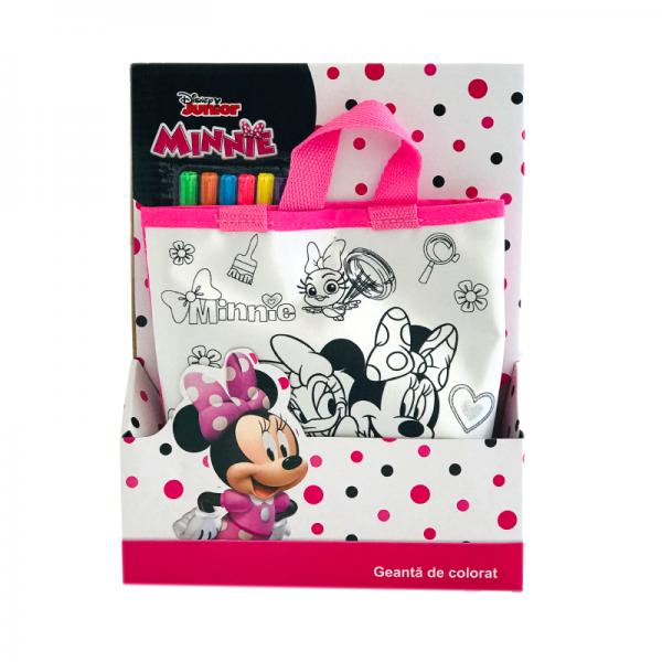 Geanta de colorat Minnie
