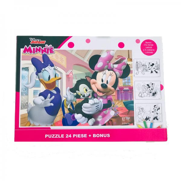 Puzzle 24 piese + Bonus Minnie