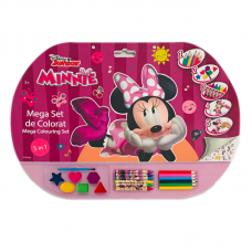 Mega set de colorat 5in1 Minnie