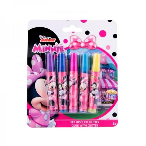 Set 5 lipici glitter Minnie