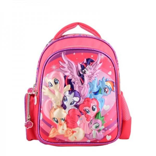 Ghiozdan 3D cu 2 compartimente My Little Pony
