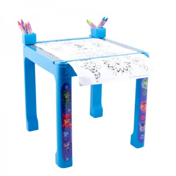 Masa cu accesorii de colorat PJ Masks