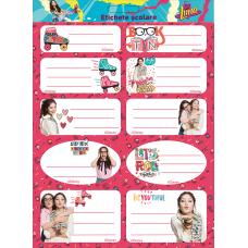 Set Etichete Soy Luna 10/coala 2/set
