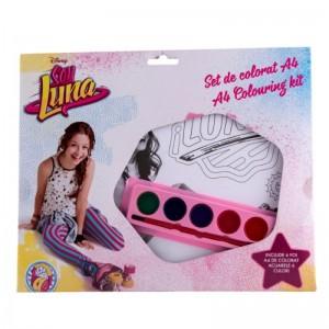 Kit de colorat A4 Soy Luna