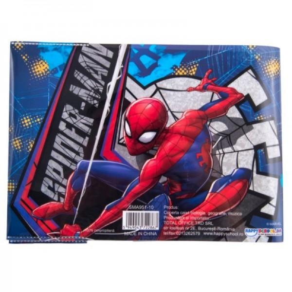 Coperta caiet muzica, biologie, geografie Spider-Man
