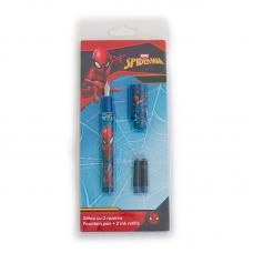 Stilou cu 2 rezerve Spider-Man
