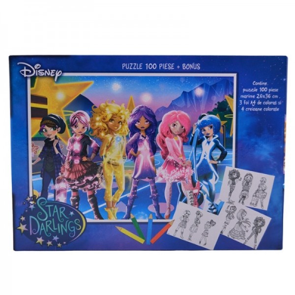 Puzzle 100 piese Star Darling